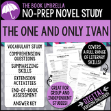 The One and Only Ivan Novel Study - Distance Learning - Google Classroom