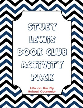 The One and Only Stuey Lewis Book Club Activity Pack