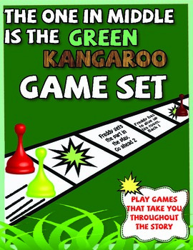 The One in the Middle is the Green Kangaroo Game Set