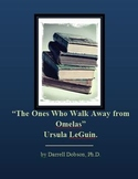 The Ones Who Walk Away From Omelas -- Ursula LeGuin -- Short Story