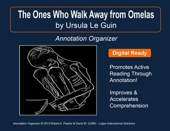 """""""The Ones Who Walk Away from Omelas"""" by U. Le Guin: Annotation Organizer"""