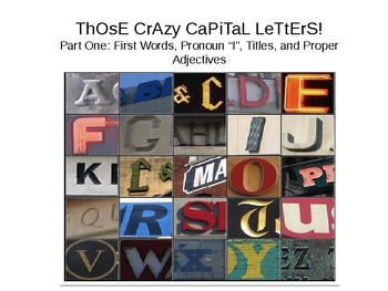 The Only Capitalization Unit You'll Ever Need, Part 1
