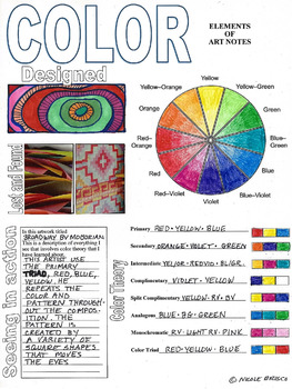 the best elements of art notes teacher samples templates and ppt