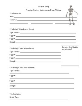 The Only Essay Planning Sheet You'll Ever Need
