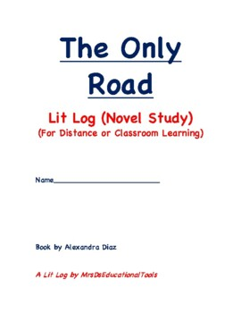 The Only Road Lit Log