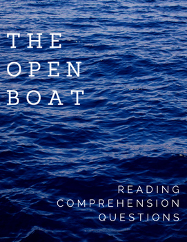 The Open Boat Comprehension Questions
