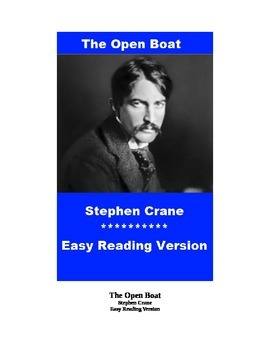 The Open Boat Mp3 and Easy Reading Text