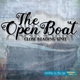 The Open Boat Naturalism Close Reading Unit Pre-Reading th