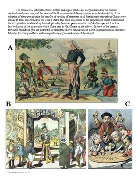 The Open Door Policy Primary Source and Image Analysis