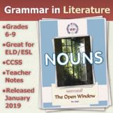 The Open Window by Saki - Nouns - Grammar in Literature Series