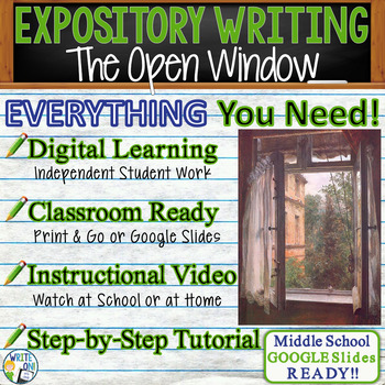 The Open Window by Saki - Text Dependent Analysis Expository Writing