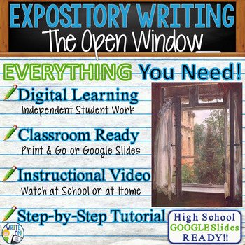 the open window by saki text dependent analysis expository writing