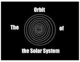 The Orbit of the Solar System