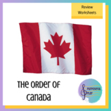 The Order of Canada: Review game for O Canada