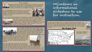 The Oregon Trail US History Unit Distance Learning