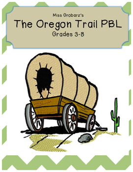 The Oregon Trail Problem Based Learning Project