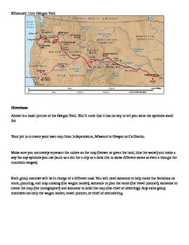 The Oregon Trail Thematic Unit