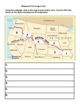 The Oregon Trail-Webquest