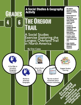 The Oregon Trial: SmartBoard & Student Sheet Activity Pack: Gr. 4-6