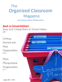 The Organized Classroom Magazine August 2013