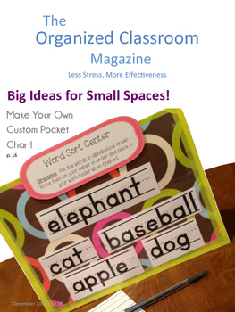 The Organized Classroom Magazine December 2013