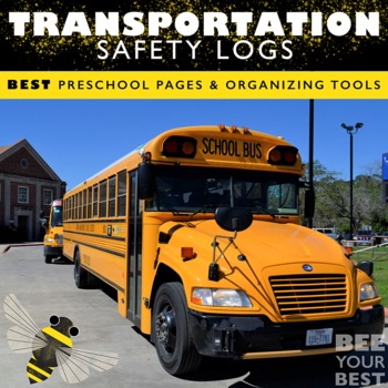 Preschool Teacher - Daily Sign In/Out AND Transportation Forms