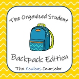 The Organized Student: Backpack Edition