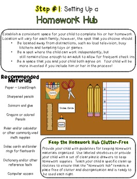 The Organized Student [Part 1] Homework Routines