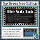The Organized Sub Tub for Stress Free Substitute Teacher Plans EDITABLE!