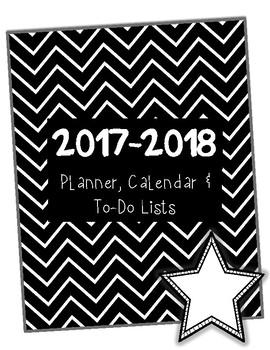 The Organized Teacher: 2017 - 2018 Planner