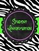 The Organized Teacher Binder {Black, White, & Brights}