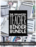The Organized Teacher Binder Bundle