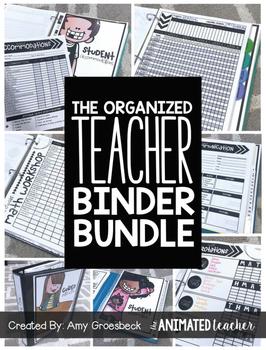 The Organized Teacher Binder Bundle