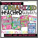 The Organized Teacher {Special Edition} Happy in Style Covers