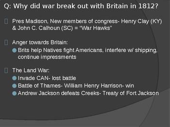 The Origin of American Politics: War of 1812