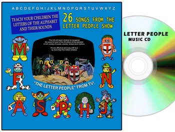 The Original Letter People CD – All 26 tracks re-mastered (1970's)