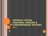 The Origins of Catholic Social Teaching