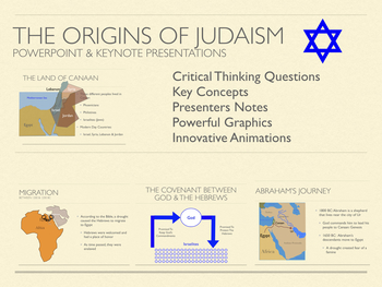 The Origins of Judaism PowerPoint and Keynote Presentations
