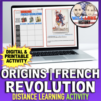 The Origins of the French Revolution Activity