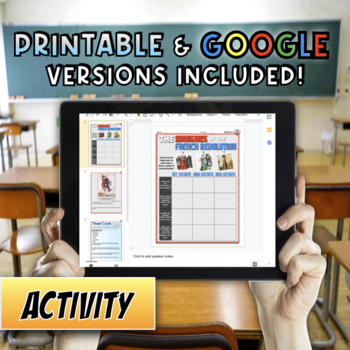 The Origins of the French Revolution Activity Bundle