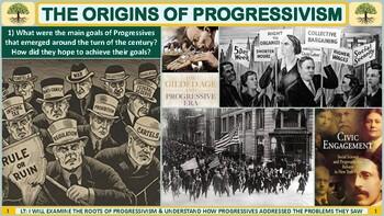 The Origins of the Progressive Reform Movement Activity for U.S. History Classes