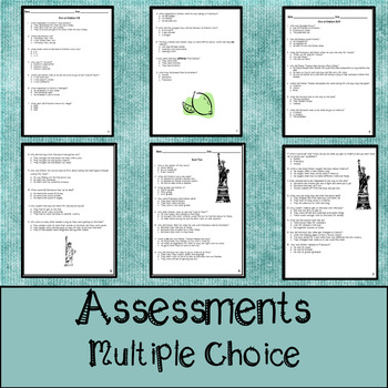 The Orphan of Ellis Island Assessments, Questions, and Vocabulary