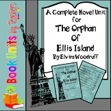 The Orphan of Ellis Island Book Unit