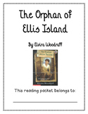 The Orphan of Ellis Island Guided Reading Packet
