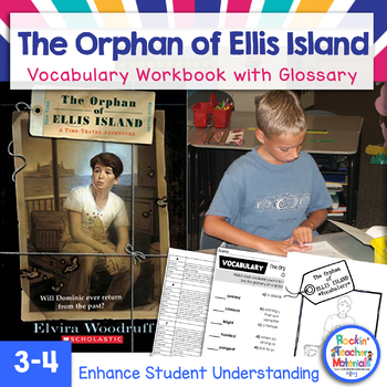 The Orphan of Ellis Island Vocabulary Workbook - Immigration Book Study