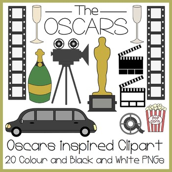 The Oscars Inspired Clipart