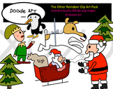 The Reindeer Clipart Pack