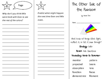 The Other Side of the Rainbow Trifold - 3rd Grade Literacy by Design Theme 3
