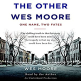 The Other Wes Moore- Final Project