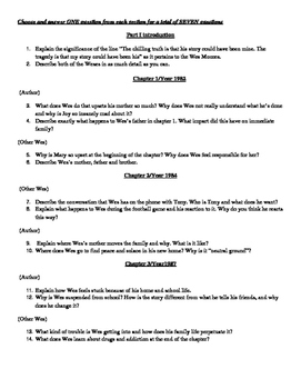 The Other Wes Moore Part 1 Test